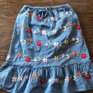 Mini Boden skirt size 7-8 years!